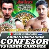 Adrian Hernandez vs Yader Cardoza - full fight Video pelea WBC 2013