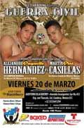 Alejandro Hernandez vs Martin Casillas - full fight Video 2015