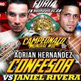 Adrian Hernandez vs Janiel Rivera - full fight Video pelea 2014