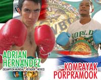 Adrian Hernandez vs Kompayak Porpramook 2 - full fight Video pelea WBC