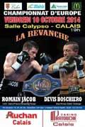 Romain Jacob vs Devis Boschiero 2 - full fight Video 2014 EBU