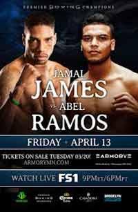 Jamal James vs Abel Ramos full fight Video 2018