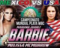 Mariana Juarez vs Melissa McMorrow - full fight Video 2014