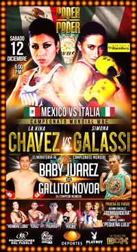 Saul Juarez vs Oswaldo Novoa 2 - full fight Video 2015 pelea