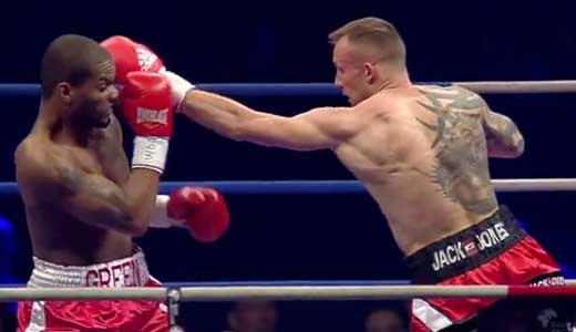 Video - Mikkel Kessler vs Allan Green - full fight video WBC silver