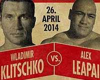 Wladimir Klitschko vs Alex Leapai - full fight Video 2014 WBO IBF WBA