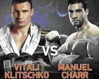 Video - Vitali Klitschko vs Manuel Charr - full fight video WBC title