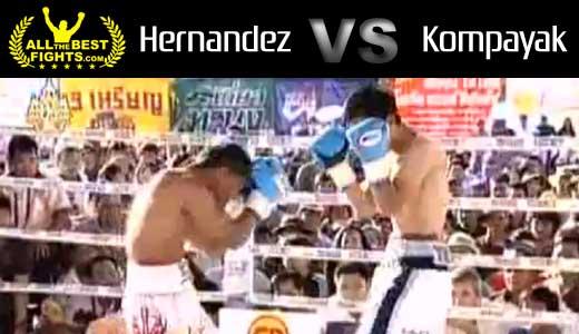 Adrian Hernandez vs Kompayak Porpramook - full fight Video pelea WBC title