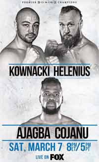 Adam Kownacki vs Robert Helenius full fight Video 2020