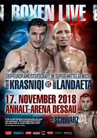 Robin Krasniqi vs Ronny Landaeta full fight Video 2018