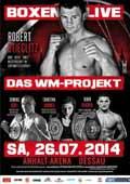 Robin Krasniqi vs Oleksandr Cherviak - fight Video 2014 result