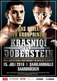 Robin Krasniqi vs Juergen Doberstein - full fight Video 2016