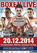 Robin Krasniqi vs Dariusz Sek - full fight Video 2014 result