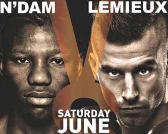David Lemieux vs N'Dam N'Jikam - full fight Video 2015 IBF