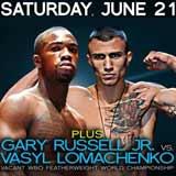 Vasyl Lomachenko vs Gary Russell Jr - full fight Video 2014
