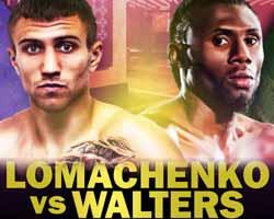 Vasyl Lomachenko vs Walters - fight Video 2016 result WBO