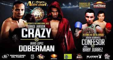 Dante Jardon vs Jairo Lopez - full fight Video 2015 pelea