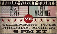 Josesito Lopez vs Aaron Martinez - full fight Video 2014 pelea