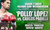 Emanuel Lopez vs Carlos Padilla - full fight Video 2015 pelea