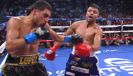 Video - Victor Ortiz vs Josesito Lopez - full fight video pelea WBC