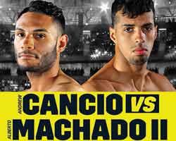 Andrew Cancio vs Alberto Machado 2 full fight Video 2019 WBA