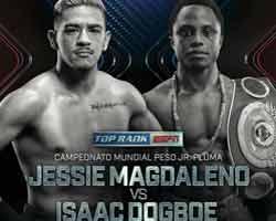 Jessie Magdaleno vs Dogboe fight video 2018 WBO