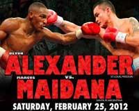 Devon Alexander vs Marcos Maidana - full fight Video pelea completa