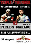 Ilunga Makabu vs Eric Fields - full fight Video WBC silver 2013