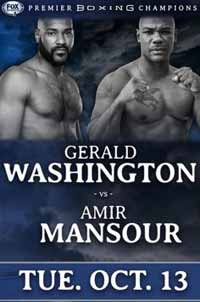 Amir Mansour vs Gerald Washington - full fight Video 2015