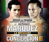 Hernan Marquez vs Luis Concepcion 2 - full fight Video pelea KO video
