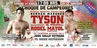 Hernan Marquez vs Richie Mepranum - full fight Video pelea Tyson Marquez