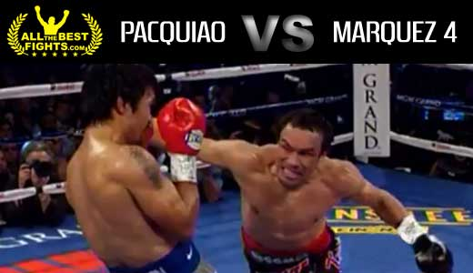Manny Pacquiao vs Juan Manuel Marquez 4 - fight Video pelea 2012