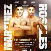 Julio Cesar Martinez vs Cristofer Rosales full fight Video 2019 WBC