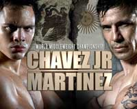 Sergio Martinez vs Julio Cesar Chavez Jr - full fight video pelea