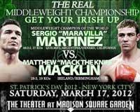 Sergio Martinez vs Matthew Macklin - full fight Video pelea completa