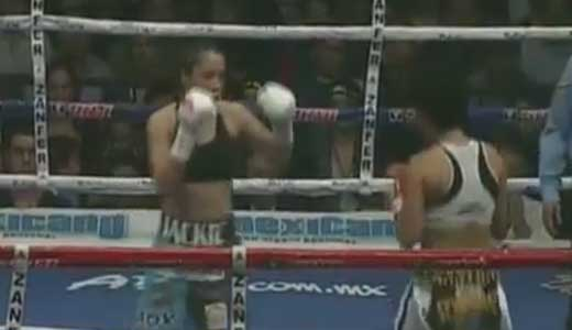 Chanttall Martinez vs Jackie Nava 2 - full fight Video pelea WBA Women