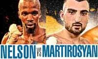 Vanes Martirosyan vs Willie Nelson - full fight Video 2014 result
