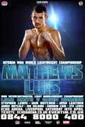 Derry Mathews vs Tony Luis - full fight Video 2015 result