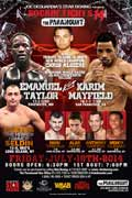 Karim Mayfield vs Emmanuel Taylor - full fight Video 2014 result