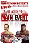 Video - Karim Mayfield vs Raymond Serrano - full fight video WBO Nabo