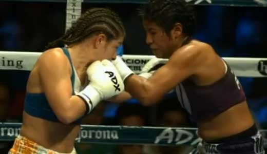 Melissa McMorrow vs Arely Mucino - full fight Video pelea completa