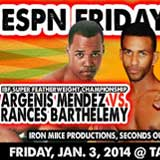 Argenis Mendez vs Rances Barthelemy - full fight Video pelea IBF 2014