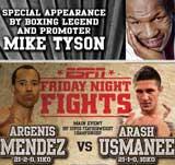 Argenis Mendez vs Arash Usmanee - full fight Video pelea IBF 2013