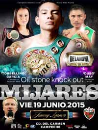 Cristian Mijares vs Nebran - full fight Video 2015 pelea