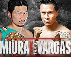 Takashi Miura vs Francisco Vargas - full fight Video 2015 WBC