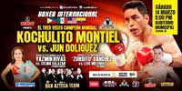 Fernando Montiel vs Rogelio Jun Doliguez full fight Video 2015