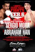 Sergio Mora vs Abraham Han - full fight Video 2015 result