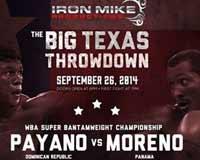 Anselmo Moreno vs Juan Carlos Payano - full fight Video 2014