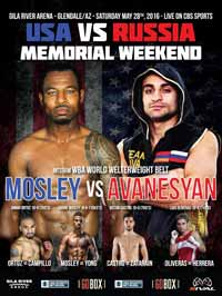 David Avanesyan vs Shane Mosley - full fight Video 2016 WBA