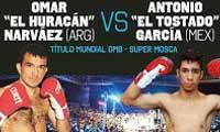 Omar Narvaez vs Antonio Garcia - full fight Video pelea 2014 WBO
